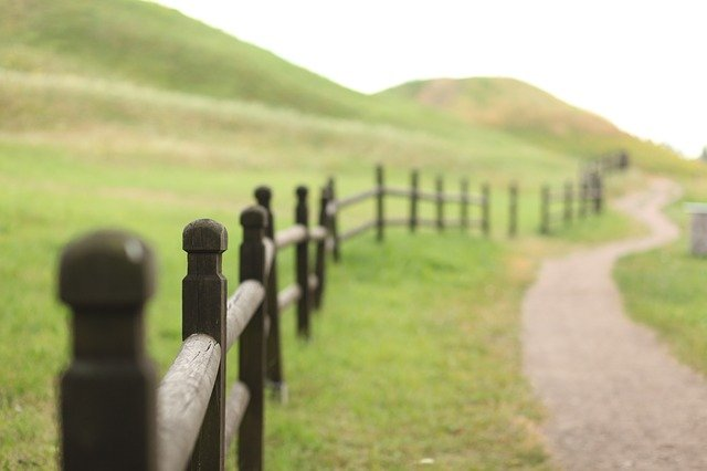 Common types of fences